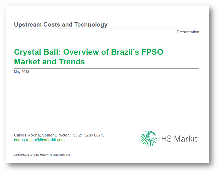 Overview Of Brazil's Existing FPSO Industry And Possible Future Direction