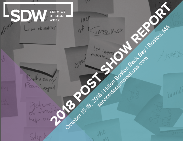 2018 Service Design Week Post Show Report
