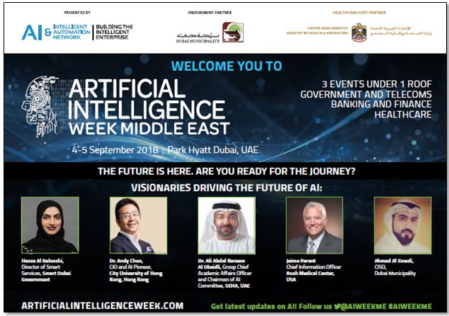 Artificial Intelligence Week – Brochure