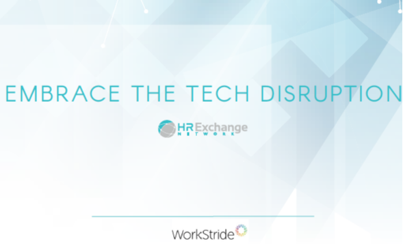 Embrace the HR technology disruption