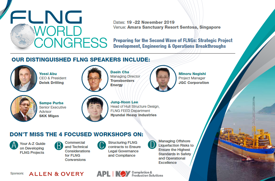 View the full event outline for FLNG World Congress