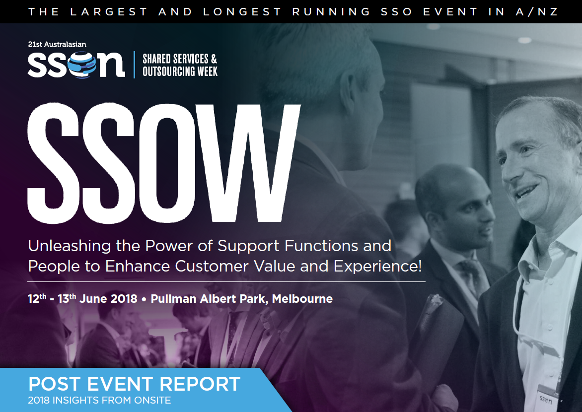 2018 Shared Services & Outsourcing Week  Post Show Report