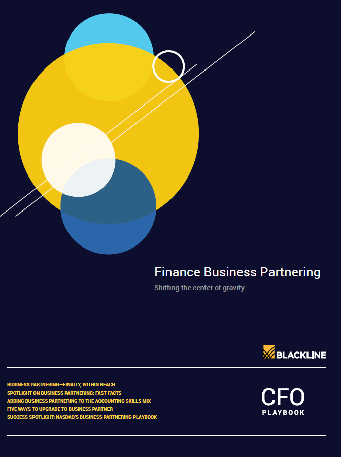 CFO Playbook:  Finance Business Partnering