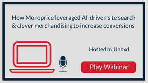 How Monoprice leveraged AI-driven site search & clever merchandising to increase conversions