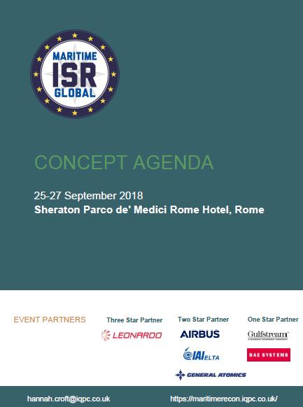 Maritime ISR Global Concept Agenda