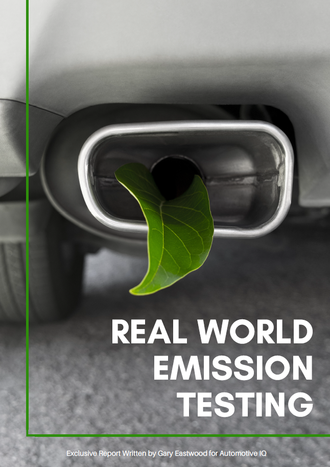 Report on Global Market Situation regarding Real World Emission Testing