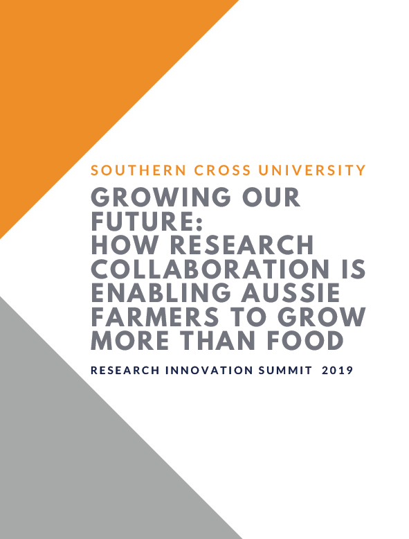 Growing  Our Future: How Research Collaboration is Enabling Aussie Farmers to Grow More than Food