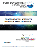 Attendee Snapshot: Past Port Development Middle East Forum