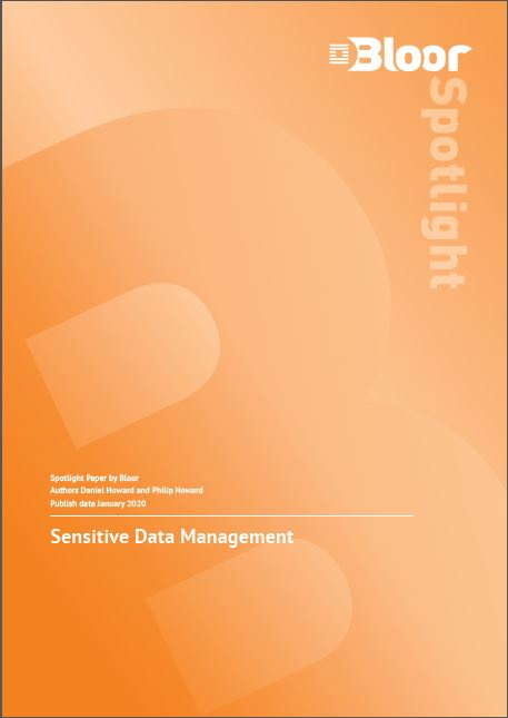 Sensitive Data Management - Bloor Spotlight