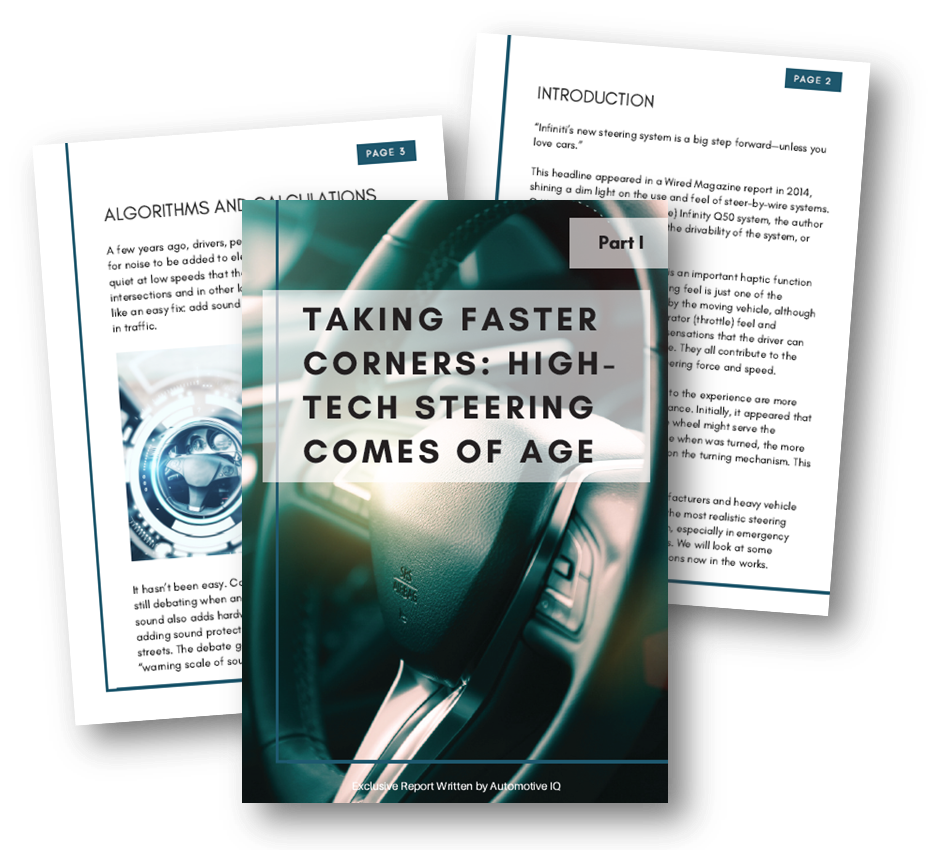 Taking faster corners: High-tech steering comes of age - part 1