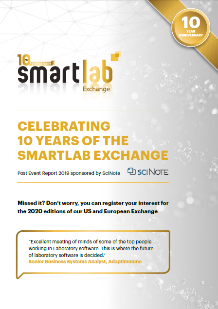 Smartlab Exchange Europe - Post-Event Report 2019