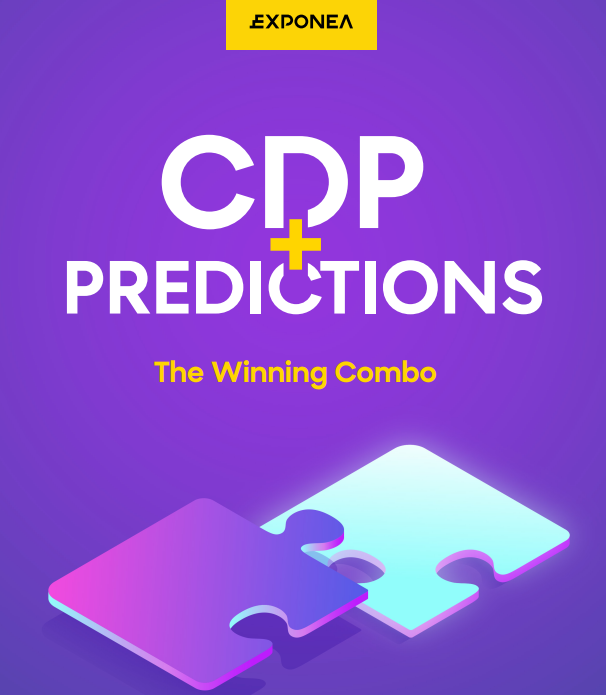 Exponea: CDP Predictions - The Winning Combo