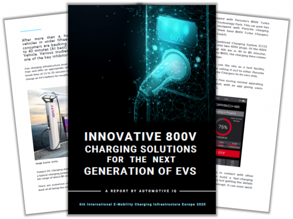 Report on Innovative 800V Charging Solutions for the Next Generation of EVs