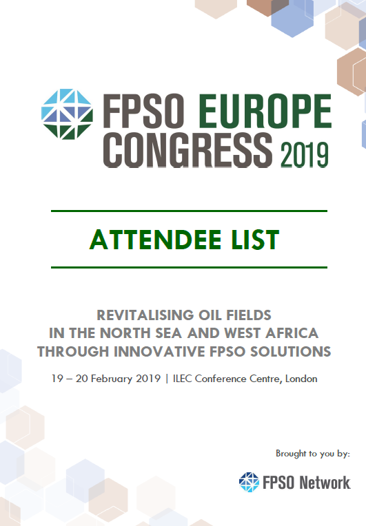 View FPSO Europe 2019 Attendee List