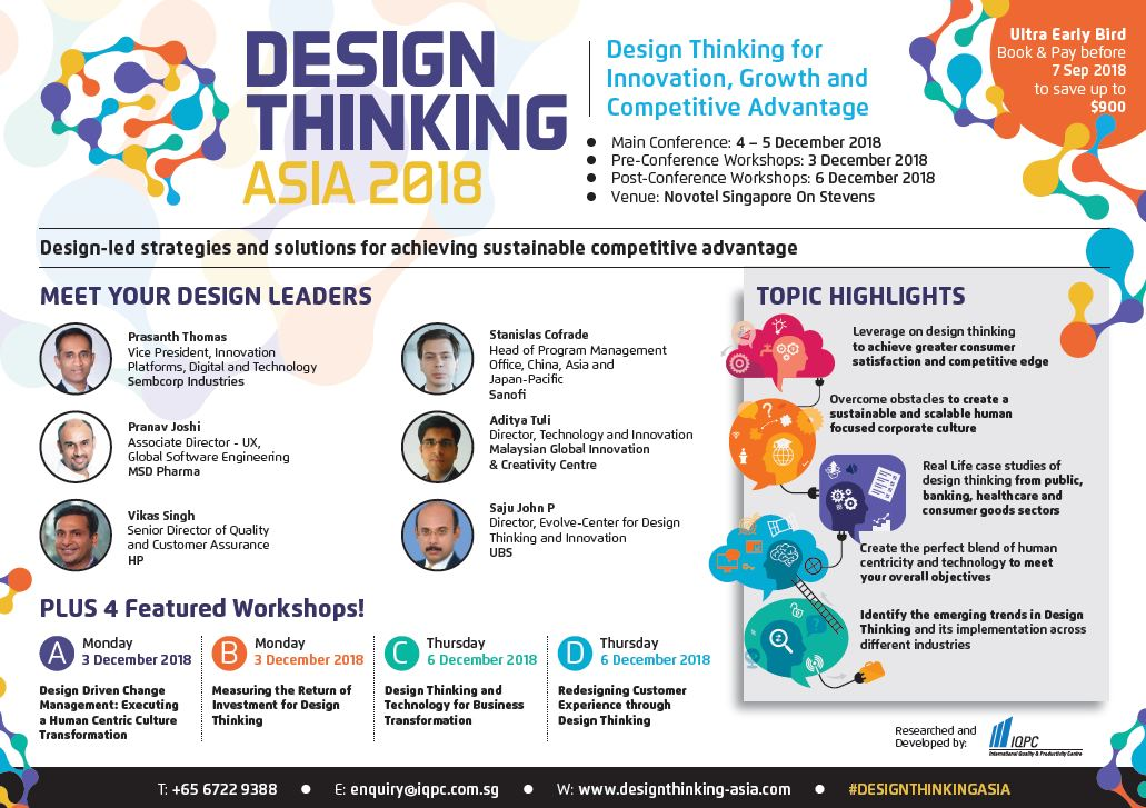 View Design Thinking Asia - Sponsorship Opportunities