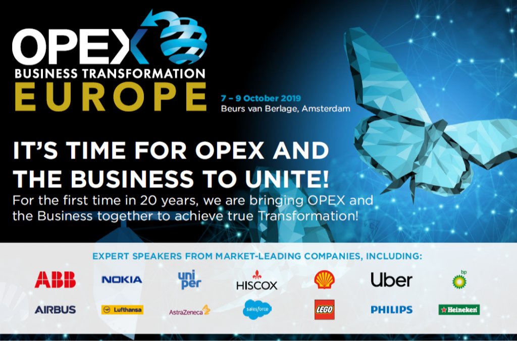 OPEX & Business Transformation Europe - spex - full event guide