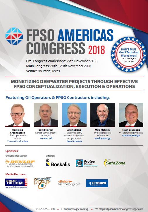 View Agenda - FPSO Americas Congress 2018