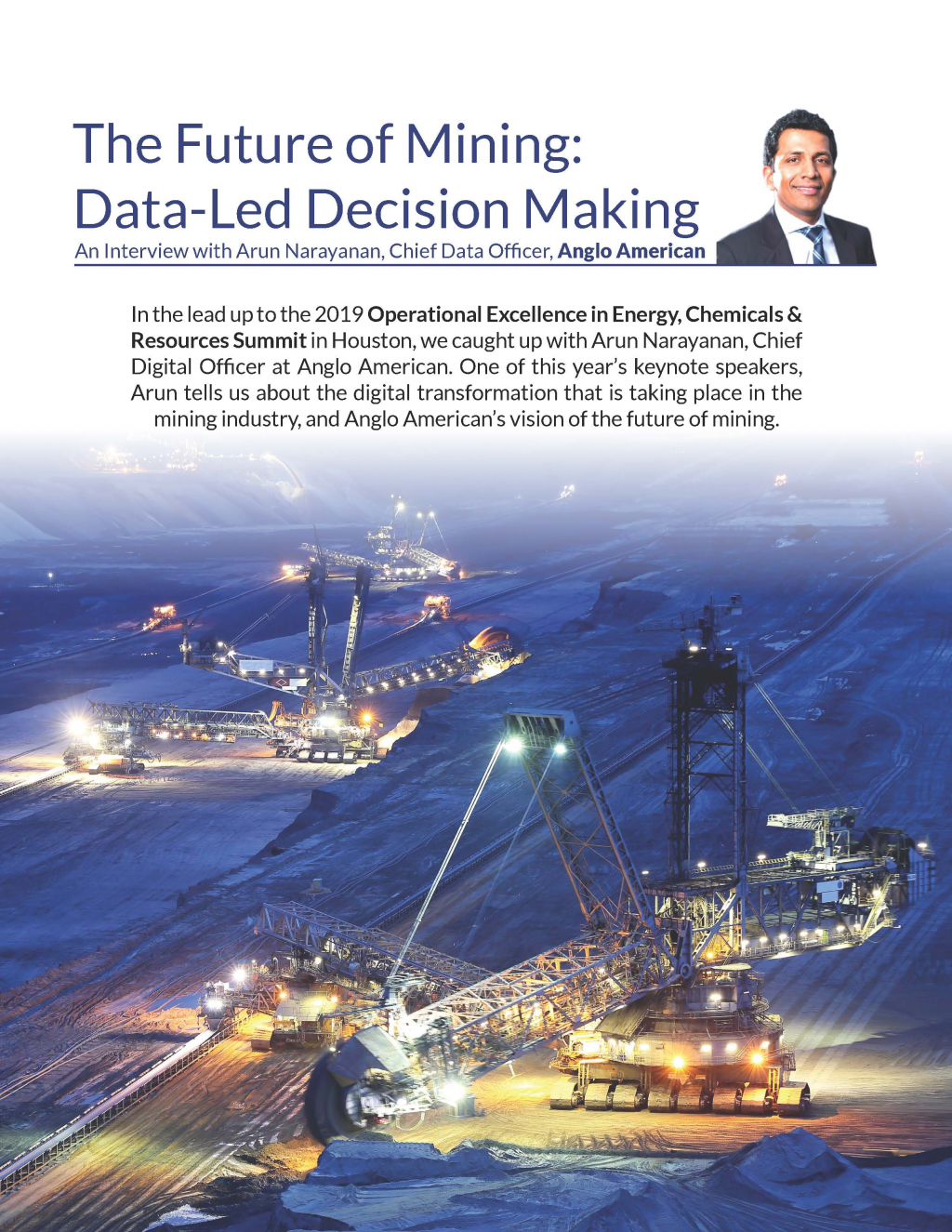The Future of Mining: Data-Led Decision Making