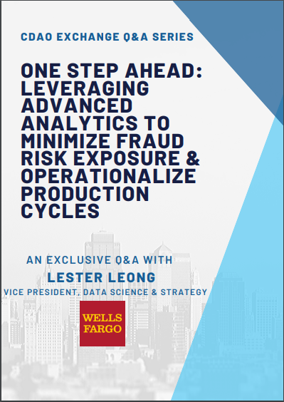 Read our Q&A with Wells Fargo Vice President of Data Science & Strategy, Lester Leong
