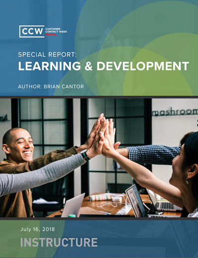 Special Report: Contact Center Learning & Development
