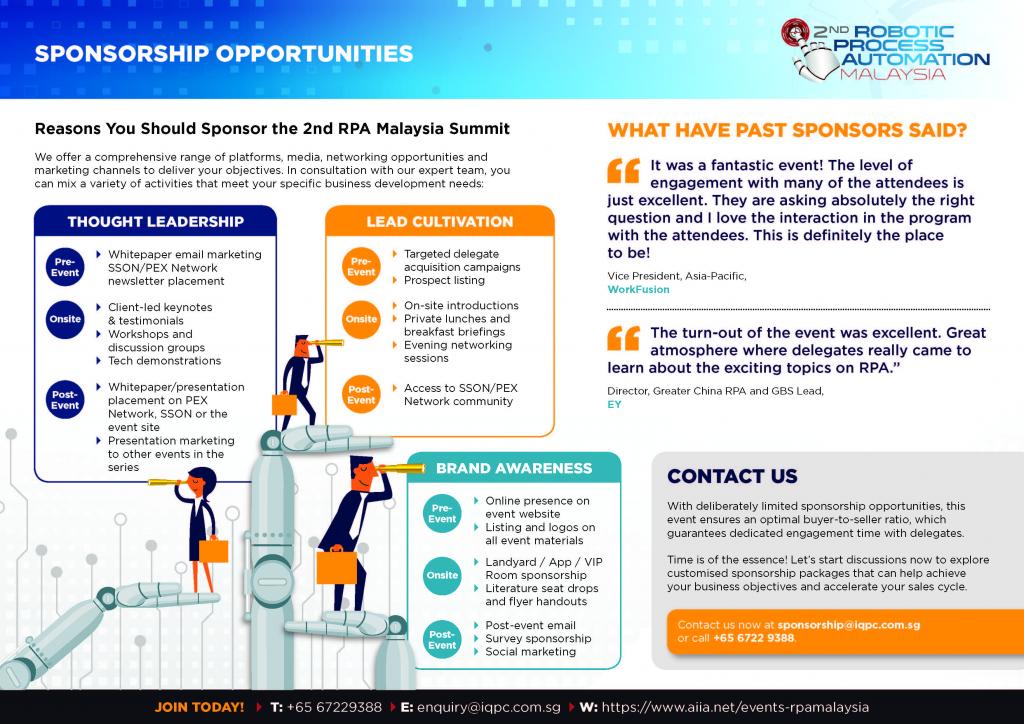 RPA Malaysia 2019 Sponsorship Prospectus