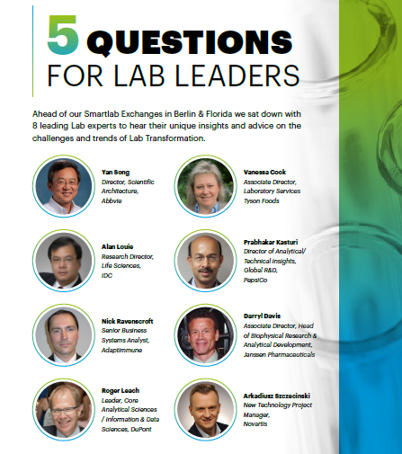 5 Questions for Lab Leaders
