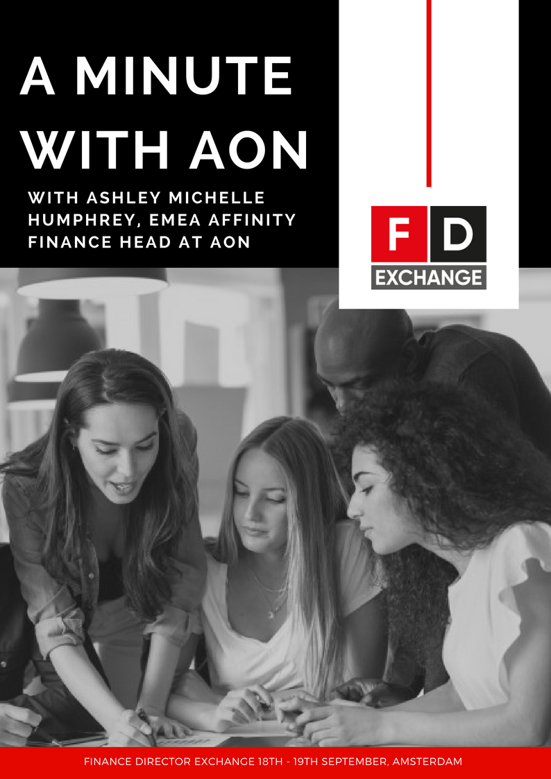 A Minute with Ashley Michele Humphrey, EMEA Affinity Finance Head at AON Interview