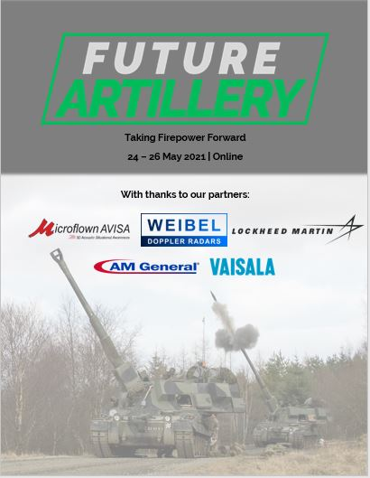 Download the 2021 Future Artillery Agenda