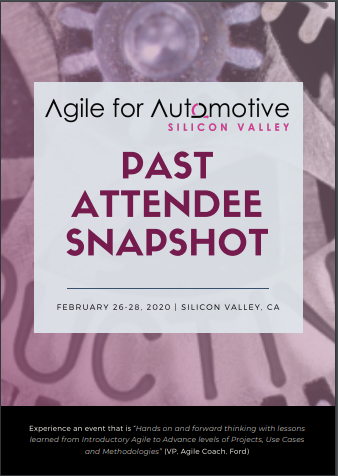 Agile for Automotive Past Attendee Snapshot