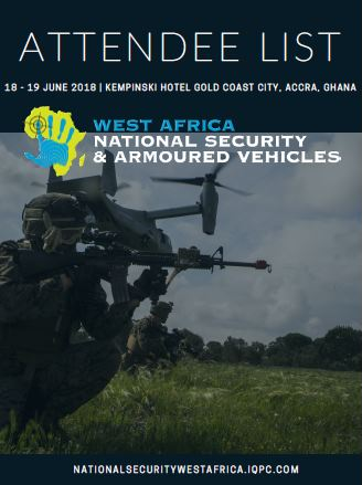 Attendee List - West Africa National Security & Armoured Vehicles