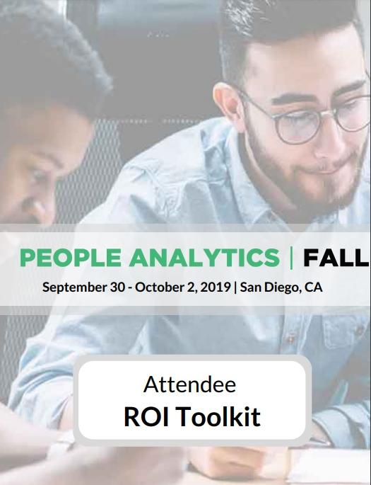 People Analytics Summit: Attendee ROI Toolkit