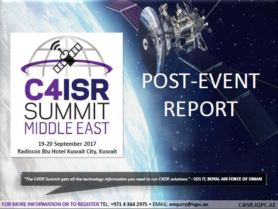 5th Annual C4ISR Summit Middle East - Post-Event Report