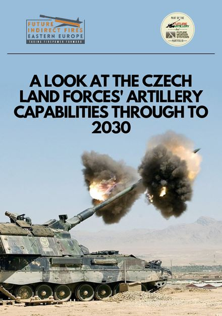 A look at the Czech Land Forces' artillery capabilities through to 2030