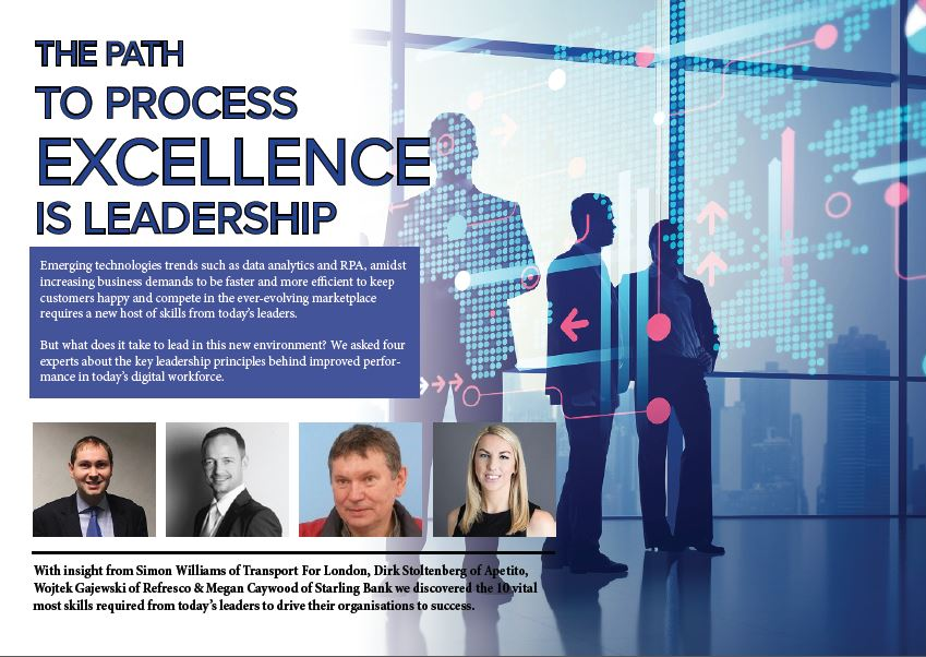 The Path to Process Excellence is Leadership