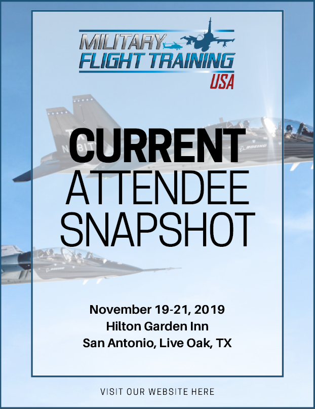 Military Flight Training 2019 - Current Attendee Snapshot
