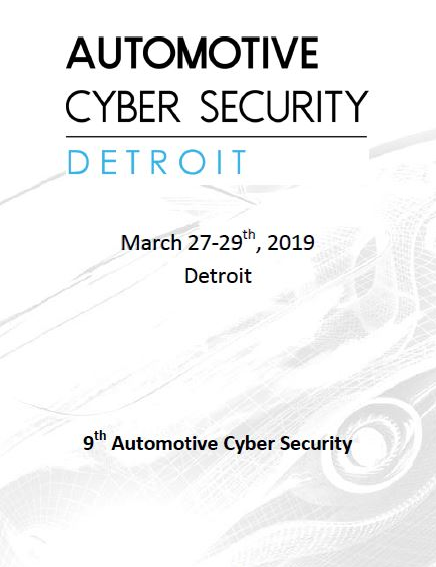 Automotive Cybersecurity Preliminary Agenda - 2019 Event Guide