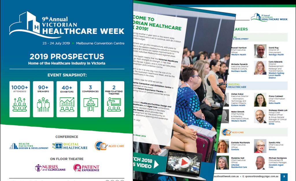 Victorian Healthcare Week 2019 Sponsorship Prospectus