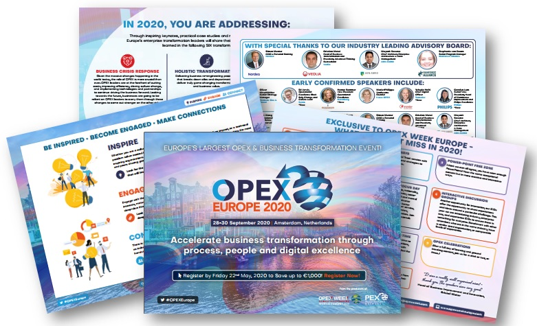 The OPEX Week Europe 2020 Early Event Guide