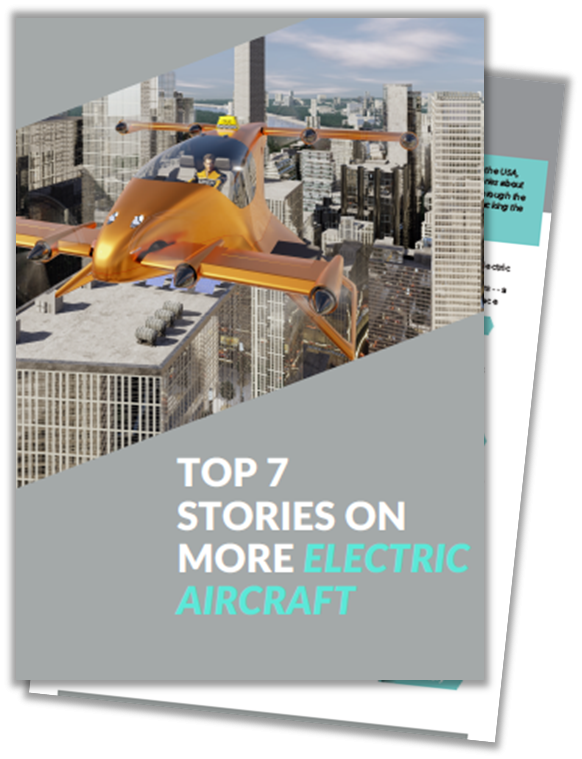 Article on More Electric Aircraft Technology developed by OEMs and Start-ups