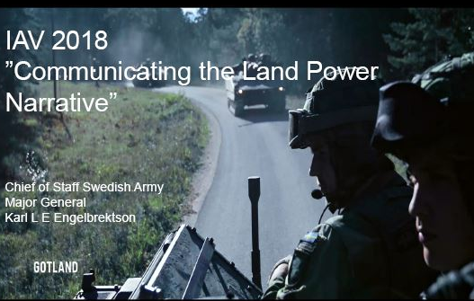 Communicating the Land Power Narrative
