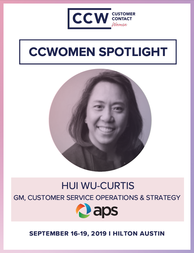 CCWomen Spotlight: Hui Wu Curtis - GM, Customer Service Operations & Strategy at Arizona Public Service