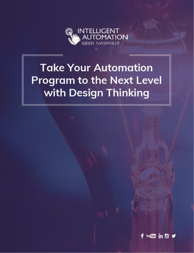Take Your Automation Program to the Next Level with Design Thinking