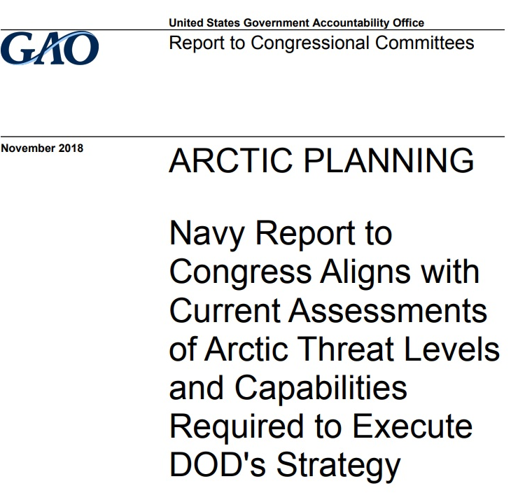 U.S. Navy and Arctic Planning