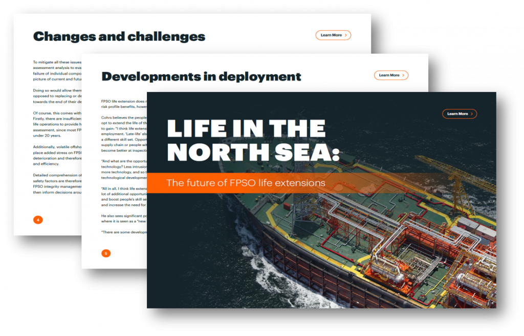 Life in the North Sea: The Future of FPSO Life Extensions