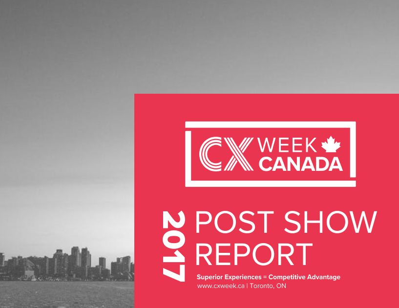2017 CX Week Canada Sponsorship Post Show Report