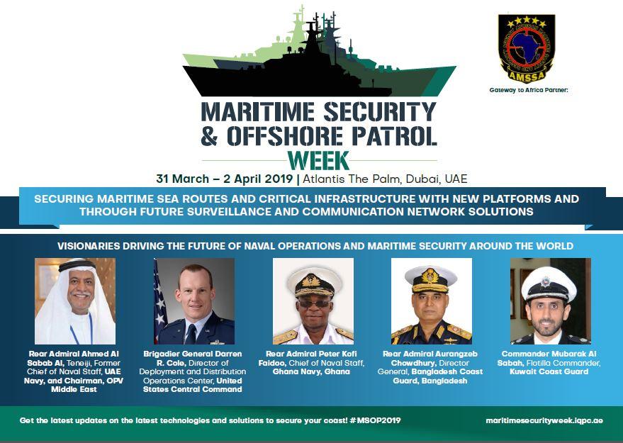 2019 Agenda: Maritime Security & Offshore Patrol Week