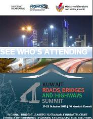 See who's attending Kuwait Roads, Bridges & Highways Summit