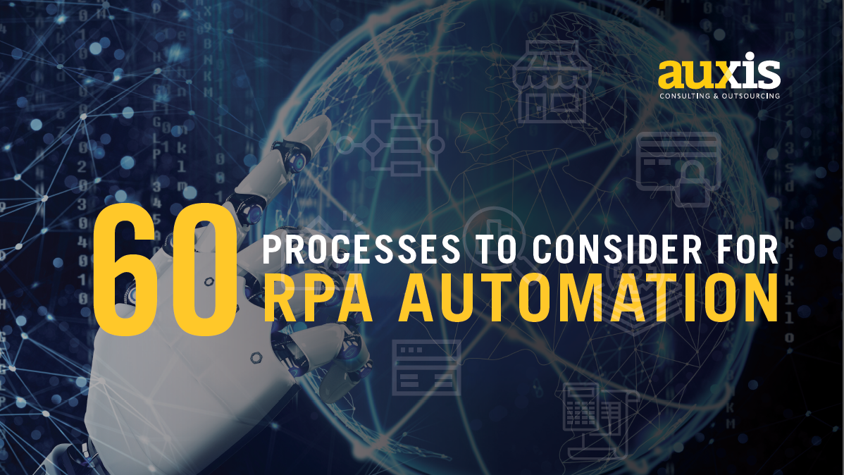 60 Processes to Consider for RPA