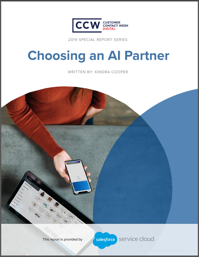 Special Report: Choosing an Artificial Intelligence Partner