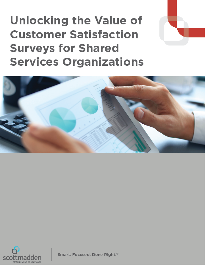 Unlocking the Value of Customer Satisfaction Surveys for Shared Services Organizations